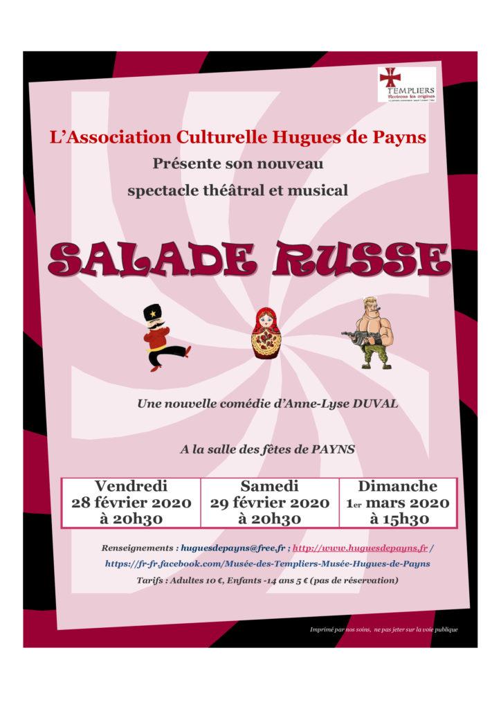 Affiche Salade Rusee